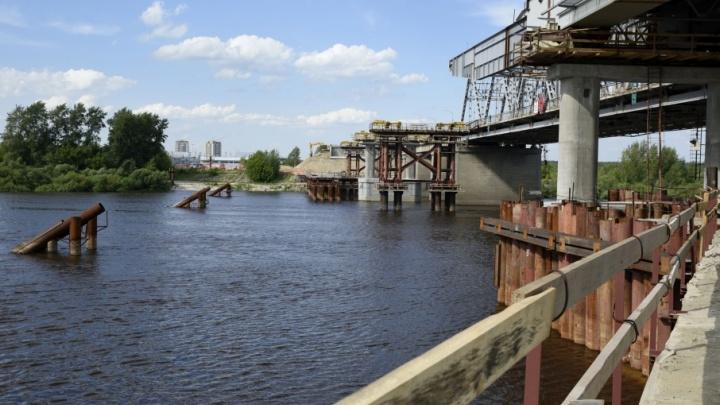 Открытие совмещенного моста на Мельникайте перенесли
