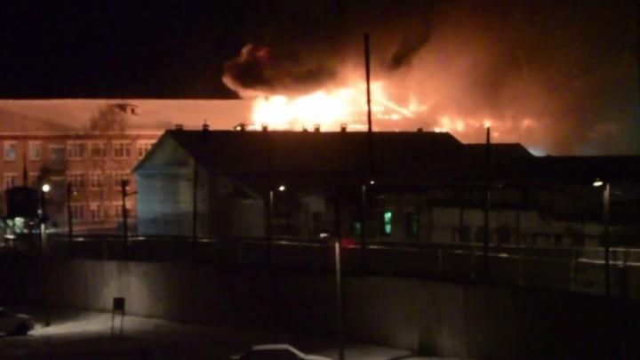 Прокуратура начала проверку после пожара в колонии Соликамска