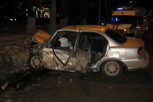 В ДТП пострадали четыре человека