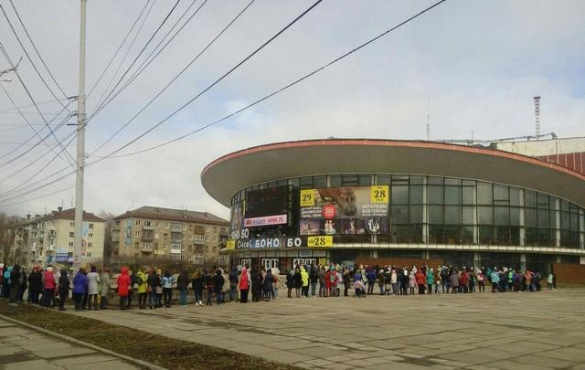 В Пермский цирк выстроилась очередь за бесплатными билетами