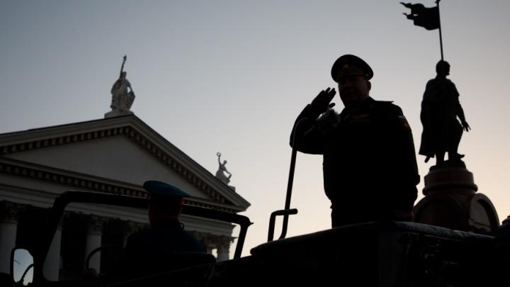 Тысяча военных отрепетировала парад в центре Волгограда