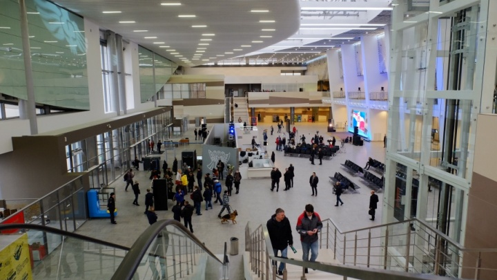 В Перми открыли новый терминал аэропорта: как это было