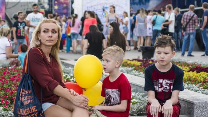 В День знаний в парке Октябрьской революции дети смогут почувствовать себя европейскими школьниками