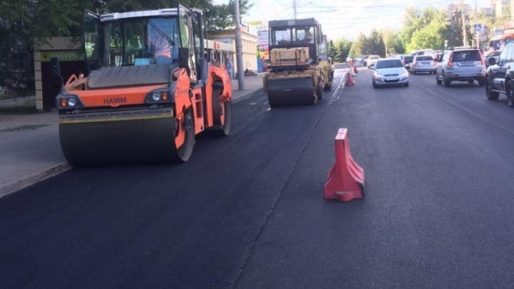 Ростовские дорожники проводят масштабный ремонт дорог в Северном микрорайоне