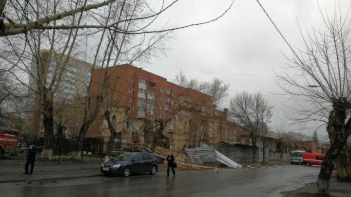 Разрушенный памятник архитектуры по улице Советской в Кургане владелец должен законсервировать