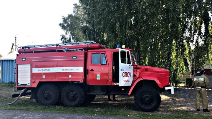 На улице Куйбышева из-за неисправной электропроводки сгорел гараж