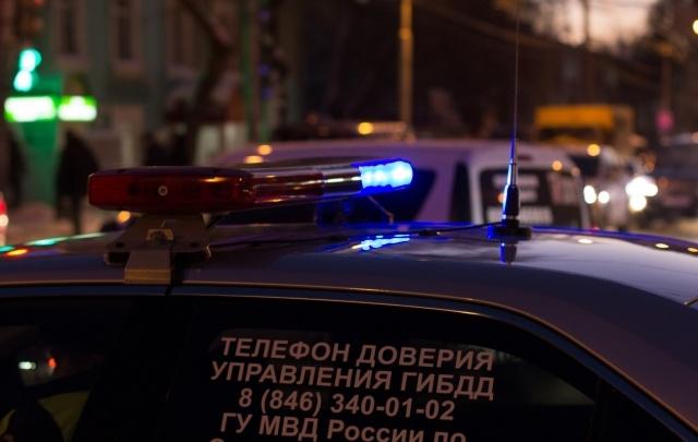 В Самаре «Ночной патруль» и инспекторы ДПС  задержали пьяного полицейского за рулем