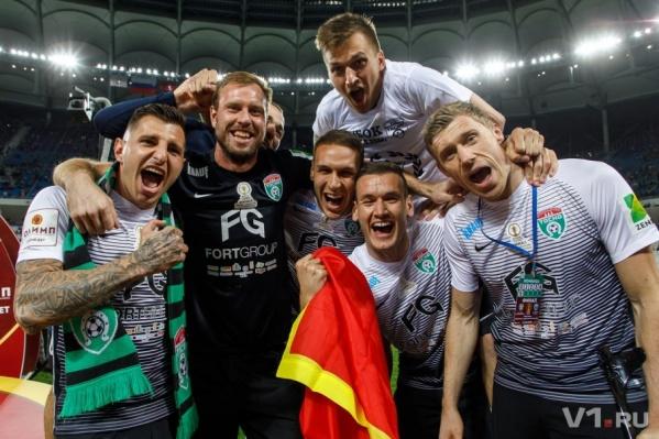 Обладателем главного трофея стал клуб из Санкт-Петербурга