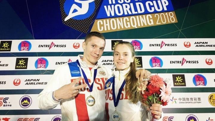 «Это был один из сложнейших этапов»: пермяк Дмитрий Тимофеев завоевал золото Кубка мира по скалолазанию