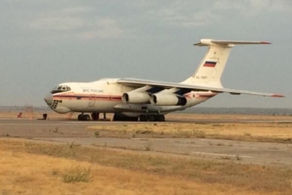 Ил-76 совершил облет Иловлинского района