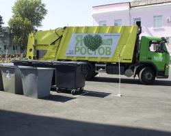 В Ростове выбрали лучшего водителя мусоровоза 2015 года