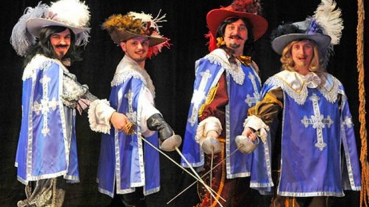 В Музыкальном театре Волгограда покажут лучшего в городе д'Артаньяна