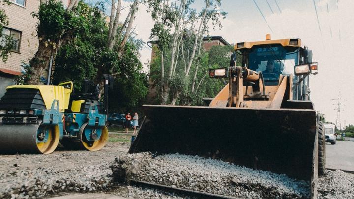 В «Тепло Тюмени» объяснили позднее восстановление разрытых дворов и дорог