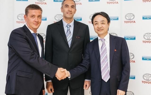 Toyota: официальное открытие в Челябинске