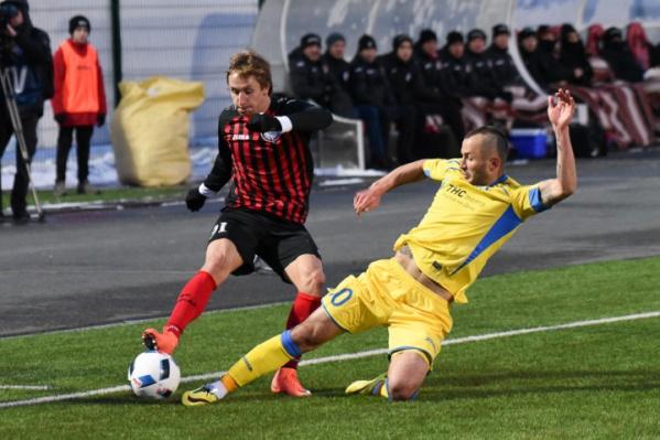 Федор Кудряшов (справа) был ключевым защитником ФК «Ростов» в минувшем сезоне