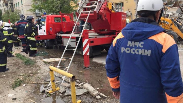 В Волгограде для жильцов взорвавшегося дома организован пункт временного размещения