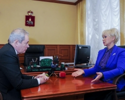 Виктор Басаргин встретился с замминистра здравоохранения РФ