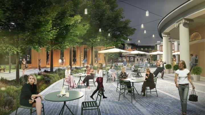 В центре Ярославля хотят создать зону уличных кафе