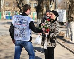 Депутат гордумы подарил ростовчанкам 1000 роз