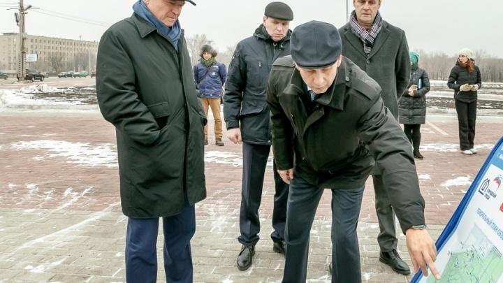 В Магнитогорске закончилась реконструкция парка у Вечного огня