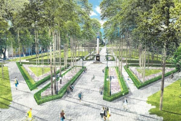 Демидовский сквер в ближайшем будущем