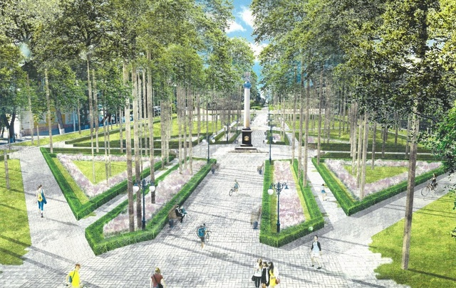 Скверу в центре Ярославля вернут исторический облик: как он будет выглядеть