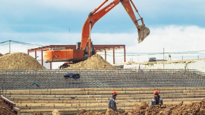 Парковку «Самара Арены» очистят от строительного мусора за неделю