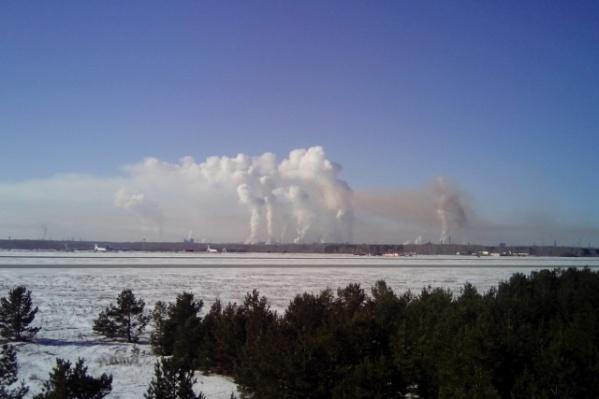 Так выглядит Челябинск со стороны аэропорта