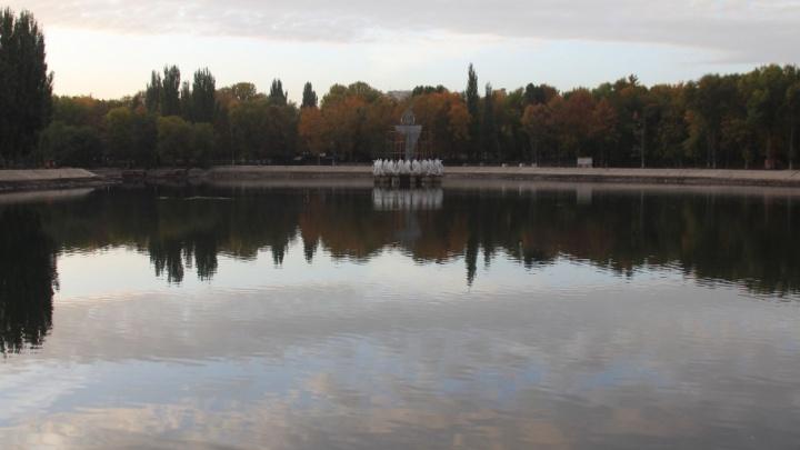 Первый этап пройден: в парке Металлургов обновили конструкцию фонтана