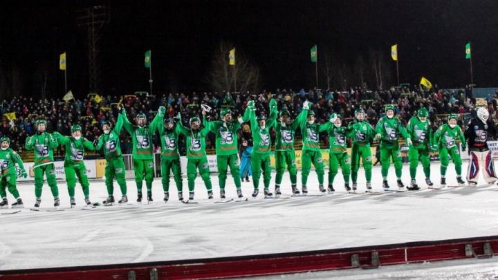 Архангельский «Водник» вышел в полуфинал международного турнира ExTe Cupen