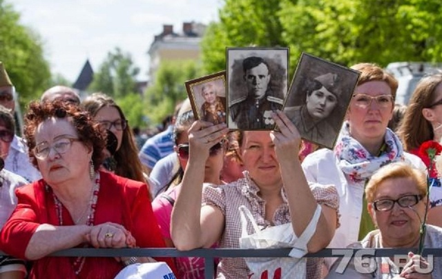 «Бессмертный полк» в Ярославле пройдет по новому маршруту