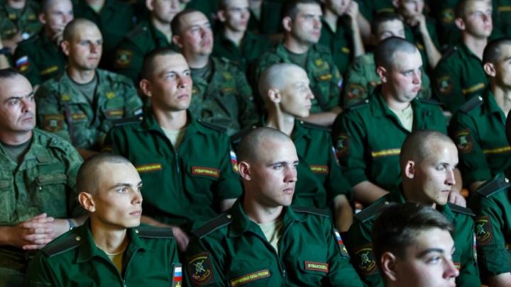 Под Волгоградом больше 600 солдат готовятся к присяге