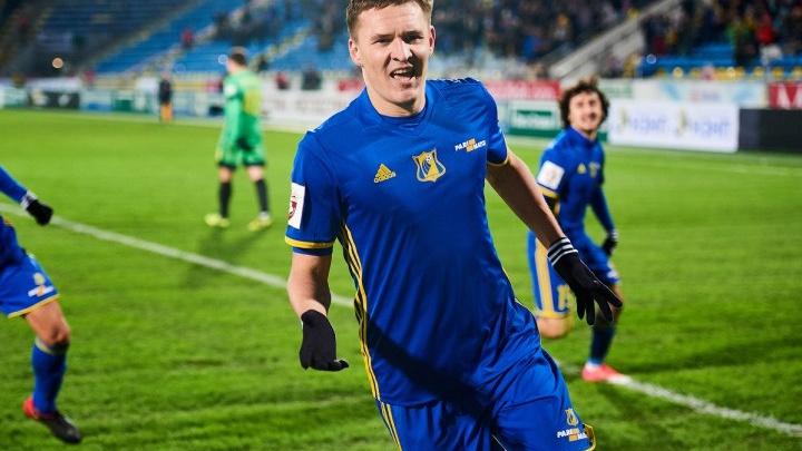 Игрок ФК «Ростов» Александр Бухаров вошел в число лучших игроков 18-го тура