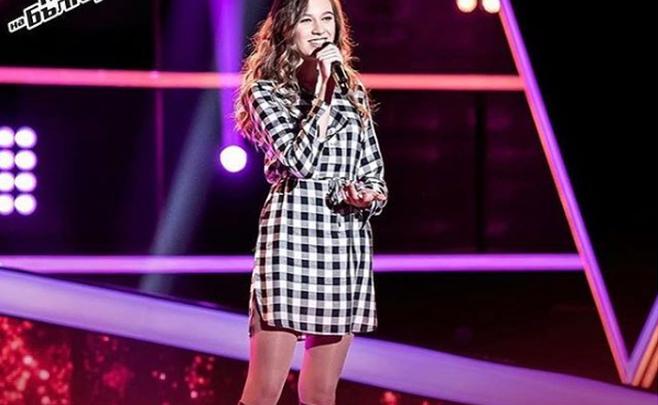 «Это только начало пути». Дочь легенды «Амкара» Георги Пеева выступила в болгарском шоу «Голос»