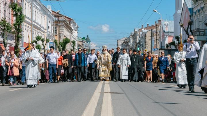 В Самаре 17 июля перекроют дороги из-за Крестного хода
