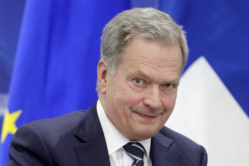 Саули Ниинисте, президент Финляндии