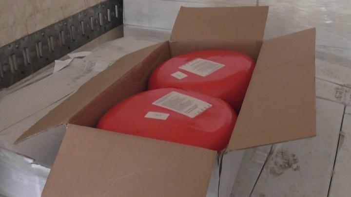 Южноуральские таможенники задержали 6,5 тонны украинского сыра и хотят его уничтожить