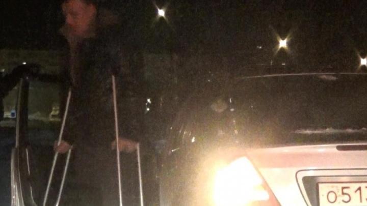ГИБДДшники поймали тюменского инвалида, который сел за руль пьяным
