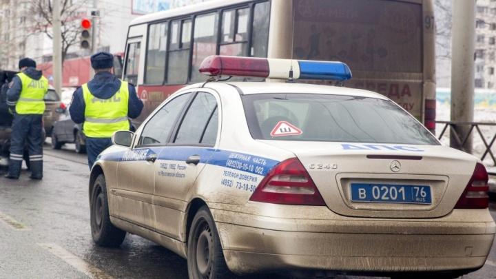 Полицейские устроили погоню по Московскому проспекту за неадекватным водителем