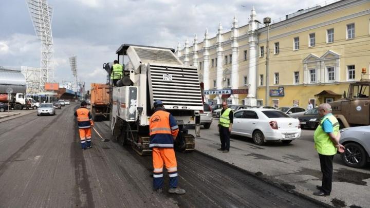 Ремонт улицы Победы завершат к 9 мая