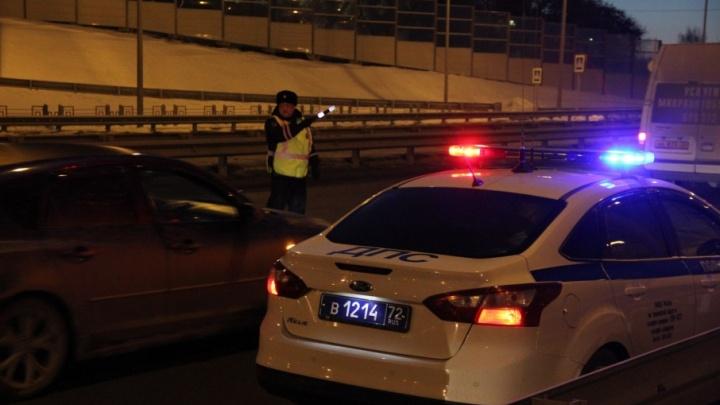 Тюменские полицейские за один день поймали сразу несколько пьяных водителей