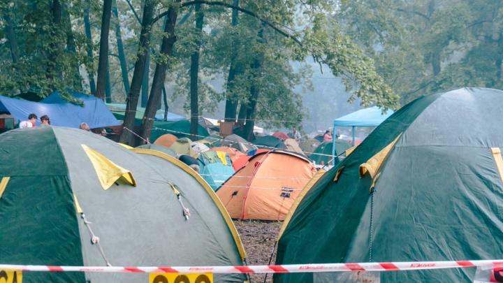 На Грушинском фестивале за распитие алкоголя полицейские задержали 30 человек