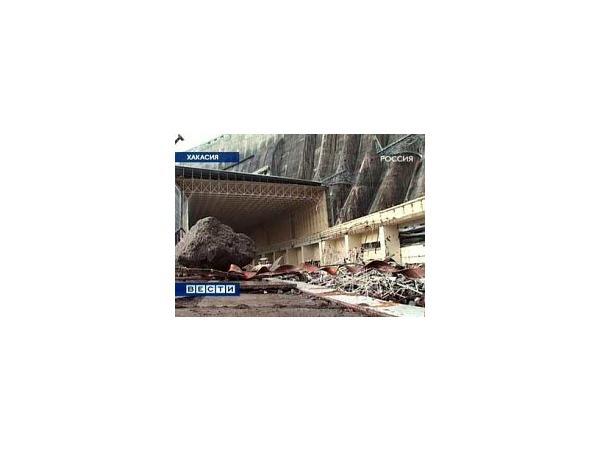 Последствия аварии на Саяно-Шушенской ГЭС. Кадр телеканала