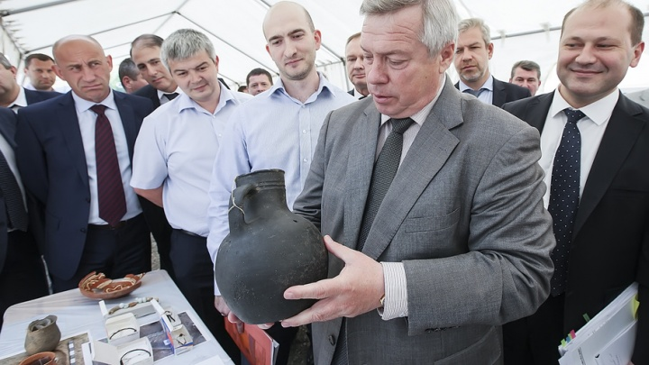 Археологические находки из могильника на Станиславского будут демонстрировать прямо на улицах