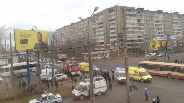 В Перми в аварии с двумя иномарками пострадал ребёнок
