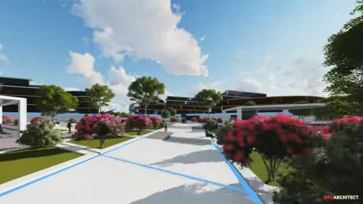 Город-сад: каким будет IT-парк, который построят на месте гостиницы «Чайка»