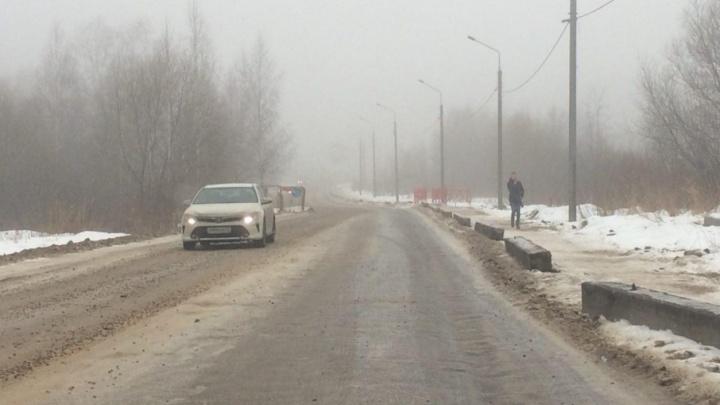 Дождались: после 15 лет обещаний на Красноборской сделали тротуар и освещение