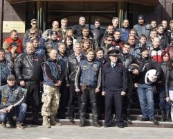 Байкеров поблагодарили за вклад в патриотическое воспитание молодежи
