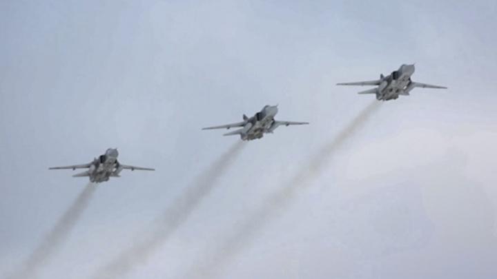 Под Волгоградом прошел учебный воздушный бой