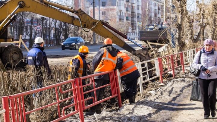 Вечные ремонты: проблемы с водой возникли в части домов пяти округов Архангельска